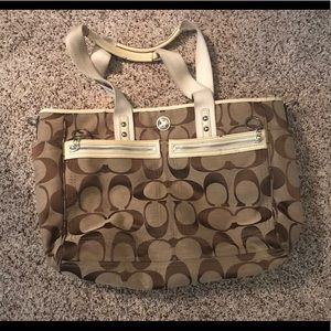 Coach diaper bag/purse